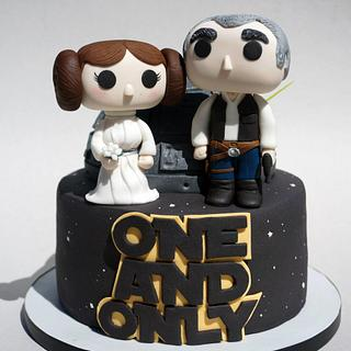 Star Wars Wedding Cake: One and Only