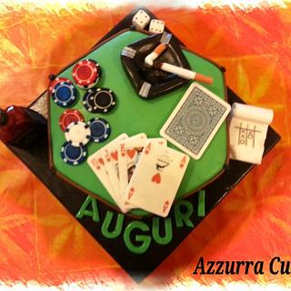 Poker cake!