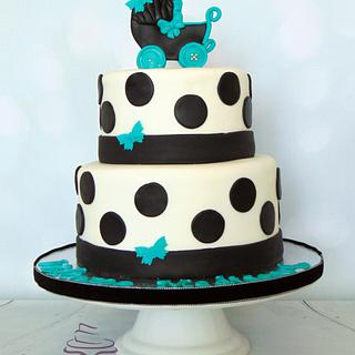 Baby Shower Cake - Cake by Sweet Obsessions Cake Co