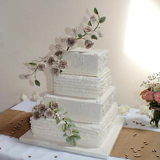 Taupe Wedding