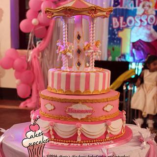 Carousel cake - Cake by Maria's