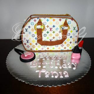 LV Purse Cake - Cake by Laura Barajas