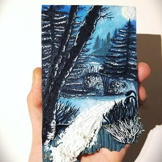 Icy Woods [Cookie Art]