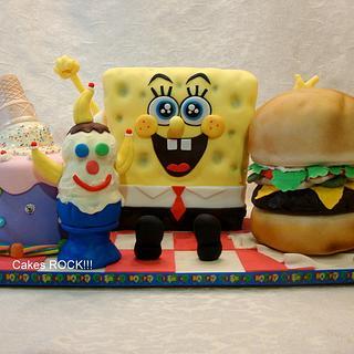 Spongebob's Dream Birthday Party!
