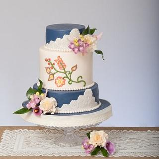 Cake Central Wedding Floral Calla Lily