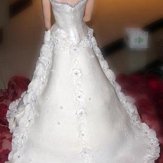 wedding cake sculpture