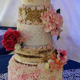 Bahamian Beach-themed Wedding
