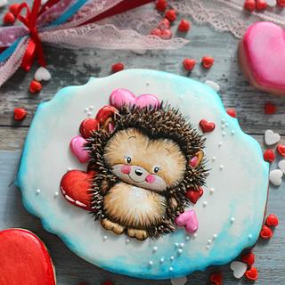 Hedgehog in love