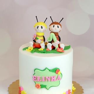 Bumblebees - Cake by Klara Liba