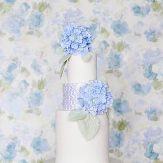 Hydrangeas - Cake by Cake Heart