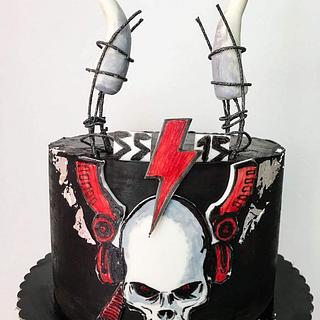AC/DC rock cake
