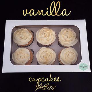 Cupcakes de Vainilla en Medellín