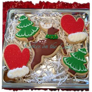 Rudolph - Cake by Kathy Kmonk