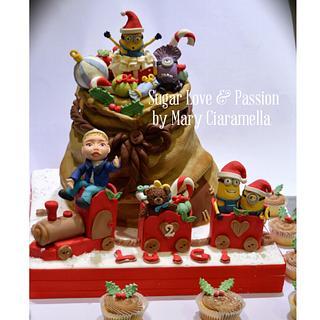 Minions Christmas Sack