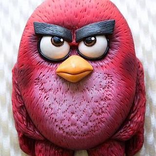 Angry Birds cake - Cake by Jaanika Leinemann