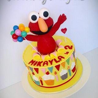 Party Elmo Cake