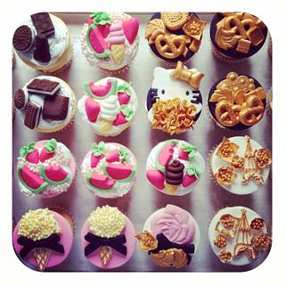 Bling Cupcakes & Toppers