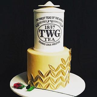 Branded cake - Cake by The Hot Pink Cake Studio by Ipshita