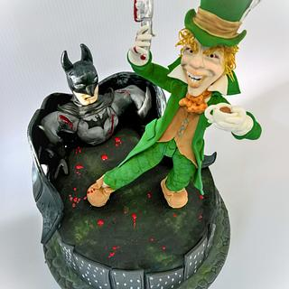 Holy cake Batman- A cake collective collaboration- Mad hatter