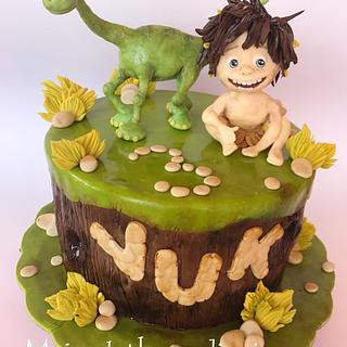 The good dinosaur cake - Cake by Branka Vukcevic