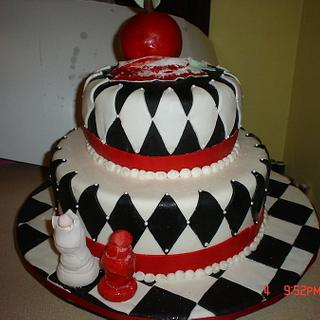 Twighlight Birthday cake