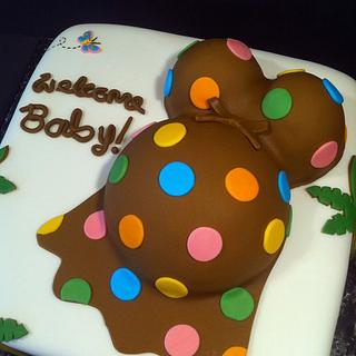 Jungle Babyshower Cake