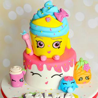 Shopkins - Cake by Nelly S.Kamal
