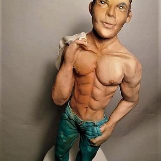 Sexy man sculpture :)