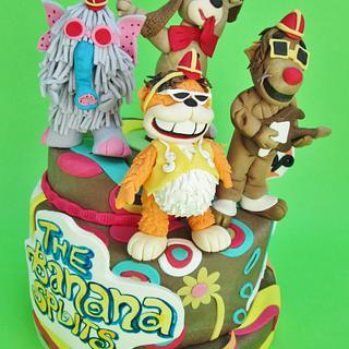 THE BANANA SPLIT CAKE