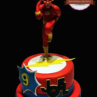 Flash Gordon cake -Tarta de Flash Gordon - Cake by Machus sweetmeats