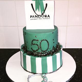 Pandora 50 charm