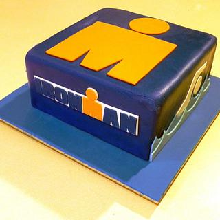Ironman Triathlon Cake