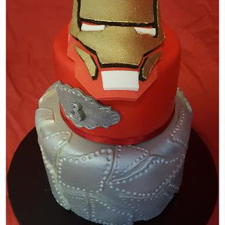 Iron Man For Master 3 💪💪💪 - Cake by FNQ Cake Share