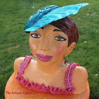 At the races  - Cake by Jocelyn Ryan