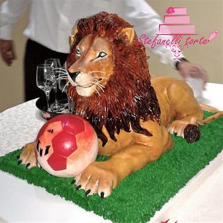 Lion cake 3d - Cake by stefanelli torte