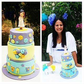 My Babyshower Cake