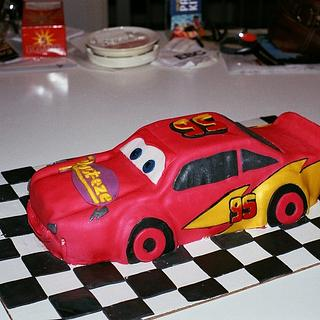 Lightning McQueen  - Cake by Anna Rapoza