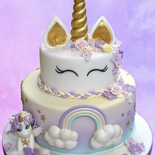 Unicorn - Cake by Dolcidea creazioni