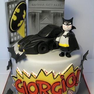 Batman Cake - Cake by Bella's Bakery