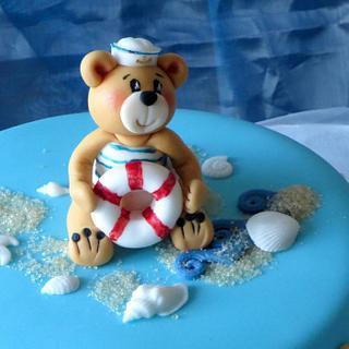 Teddybear at sea