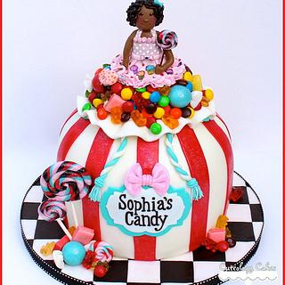 Bag of Candy Cake