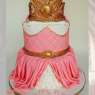 A cake fit for a Princess!