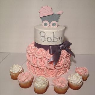 Rosette Baby Shower