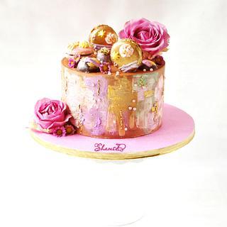 Painted Cake - Cake by Shamima Desai