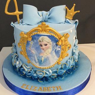 Frozen cake - Cake by Sugar Designs