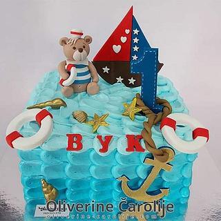 Sailor Nautikal Cake