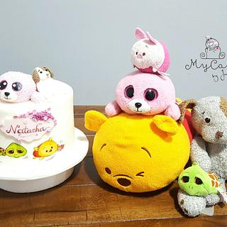 Stuffed animals - Cake by Hopechan