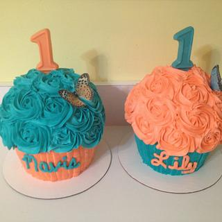 Twin's smash cakes - Cake by Cosden's Cake Creations