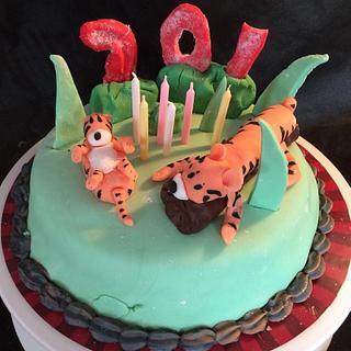 Tigers 70th birthday cake!