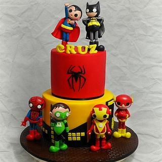 Cartoon Superhero 3rd Birthday